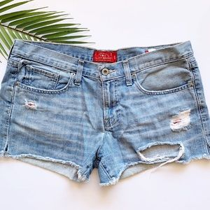 Lucky Brand | The Cut Off Distressed Shorts